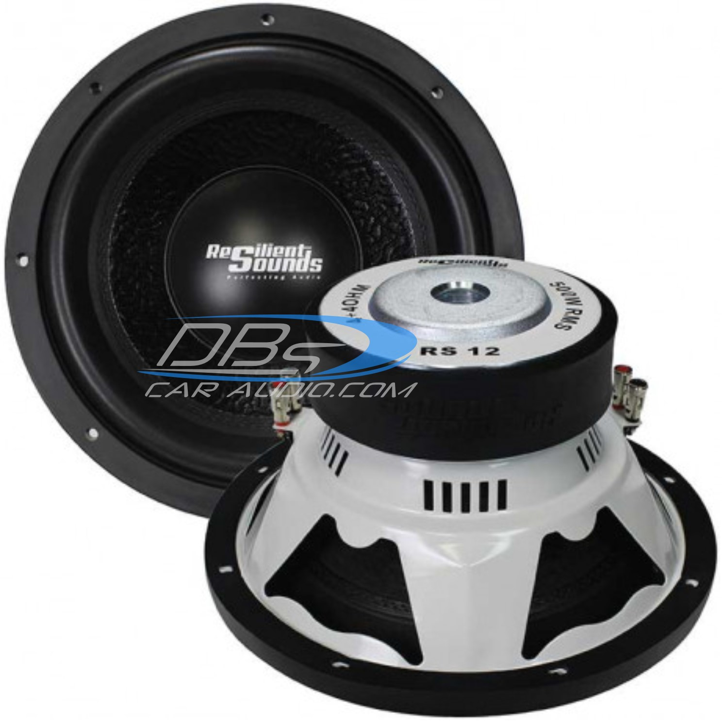 Resilient Sounds Rs 12 D4 1000w Max Dual 4 Ohm Subwoofer Car Stereo Kit 800w Sub 500w 2 Channel Amplifier Capacitor Wiring