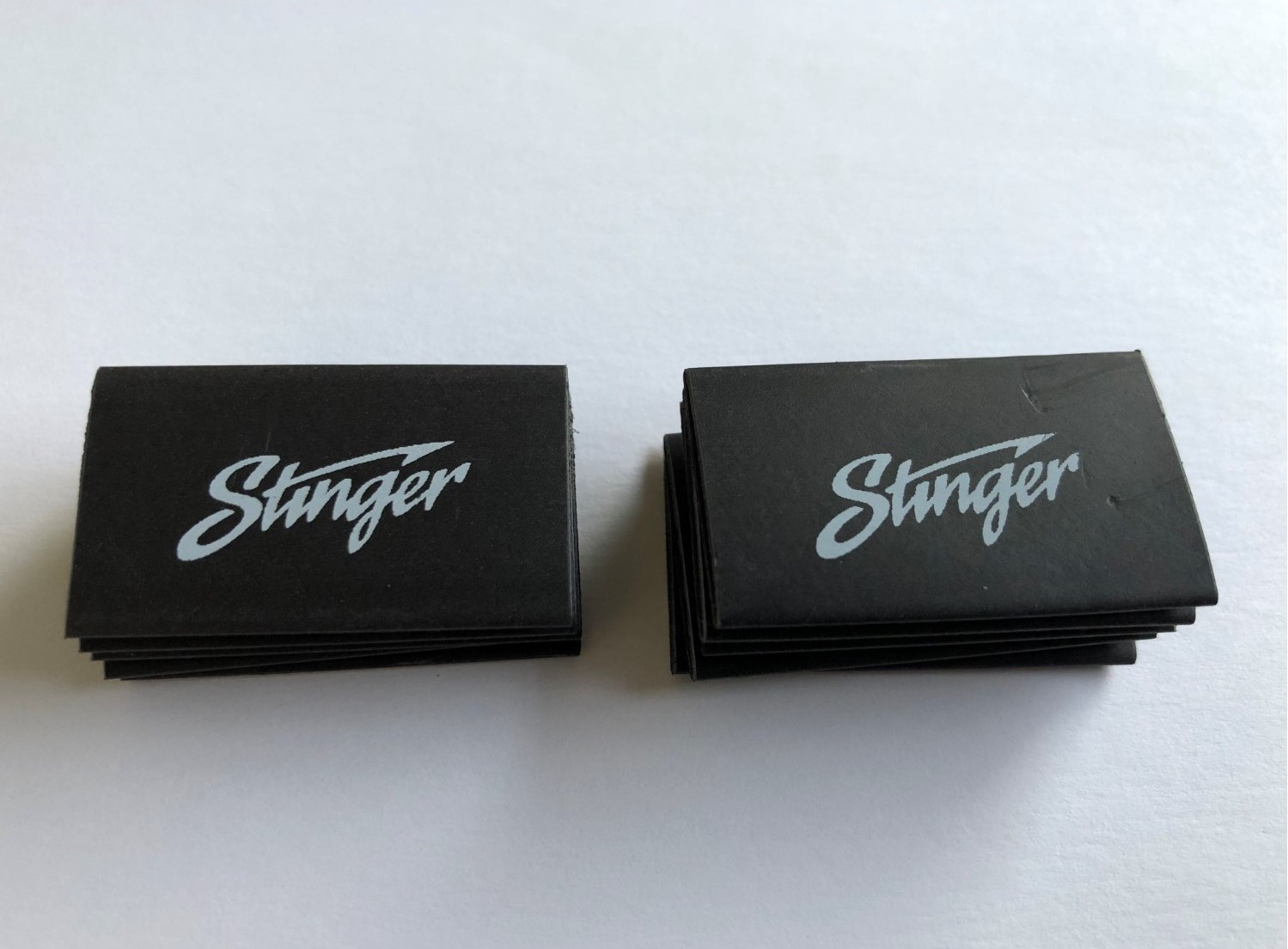 Black Heat Shrink Tubing with Stinger Logo (10 Pack)