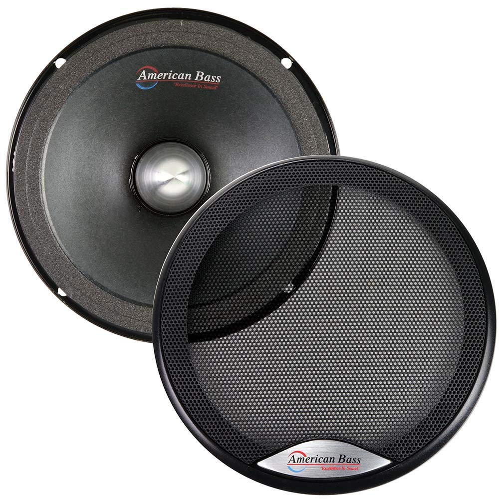 "NEW DS18 PRO-NEO8 8/"" Neo Midrange Speaker 600W Midbass Car//Home Mid Loudspeaker"