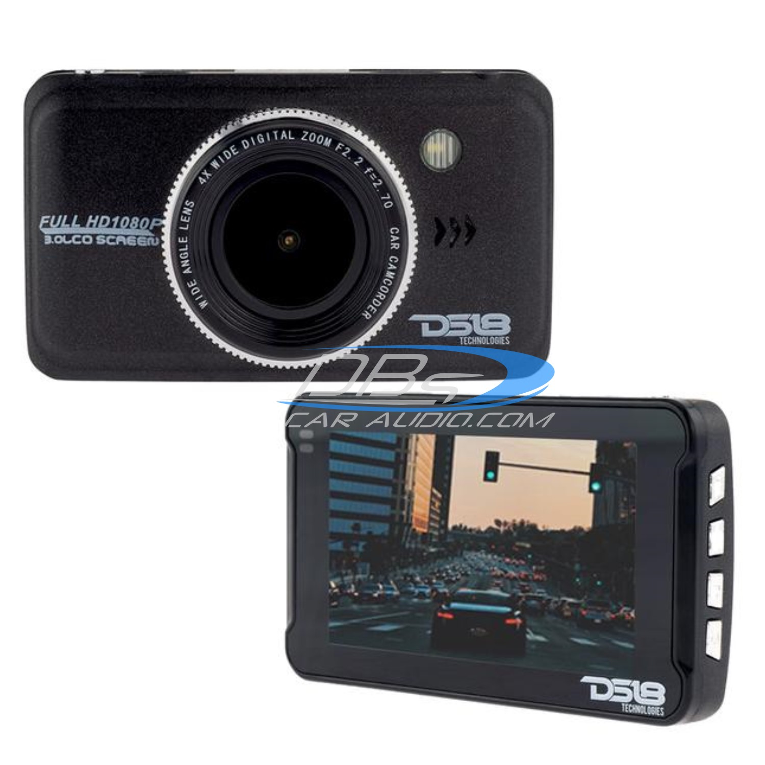 Black Box Dash Cam >> Ds18 Black Box Dash Camera Recorder 1080p With Full Hd And G Sensor