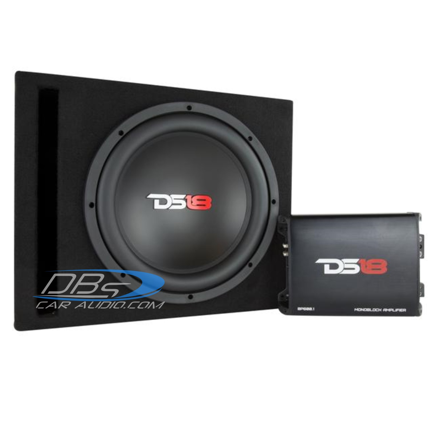 Ds18 Bp110 10 Subwoofer Bass Package Includes 600w Max Amplifier 800 Watt Wiring Kit Quick View