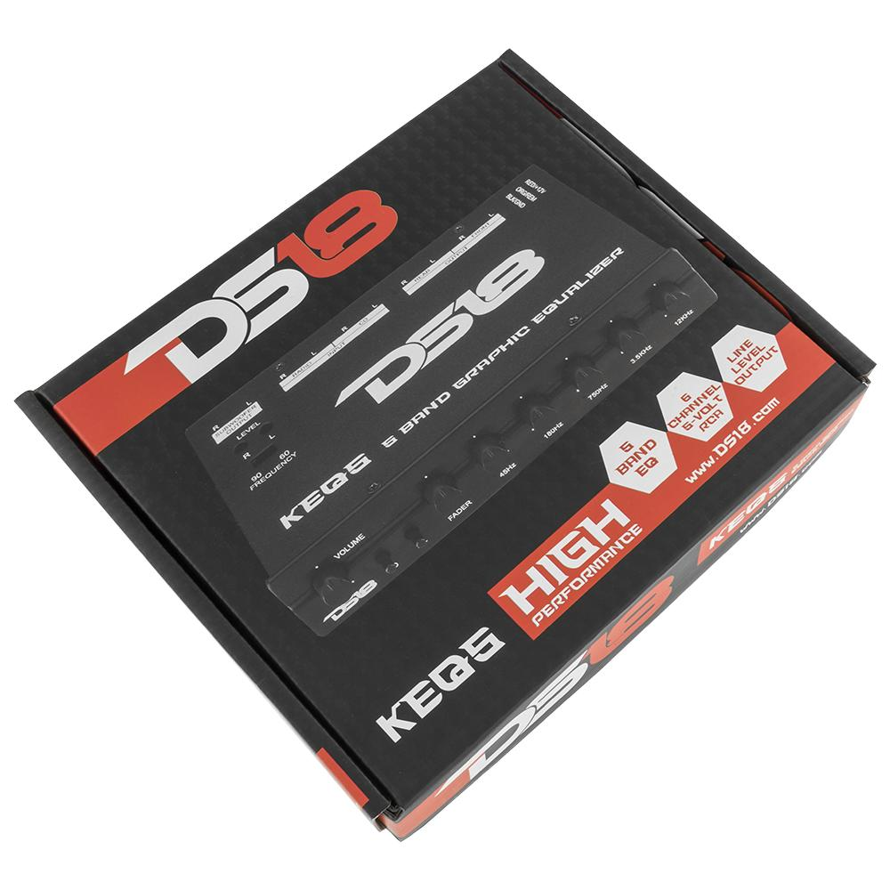 DS18 KEQ5 EQUALIZER 5 BANDS