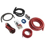 DS18 AMPKIT0 1/0 Gauge CCA Amplifier Wiring Kit with RCA Cables
