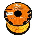 AP-14-100-OR 14 Gauge Orange Primary Wire, 100ft Roll - Audiopipe