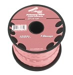 AP-14-100-PK 14 Gauge Pink Primary Wire, 100ft Roll - Audiopipe