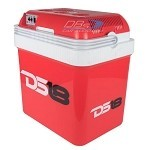 DS18 COOLBOX24 24 Liter AC/DC Thremoelectric Travel Cooler and Warmer with Wheels