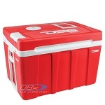DS18 COOLBOX50 50 Liter AC/DC Thremoelectric Travel Cooler and Warmer with Wheels