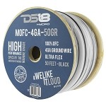 DS18 50ft Marine Grade 4 Gauge 100% Copper OFC Ground Wire