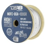 DS18 100ft Marine Grade 8 Gauge 100% Copper OFC Ground Wire
