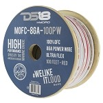 DS18 100ft Marine Grade 8 Gauge 100% Copper OFC Power Wire